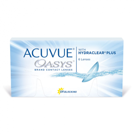 линзы Acuvue Oasys with Hydraclear Plus 6 линз