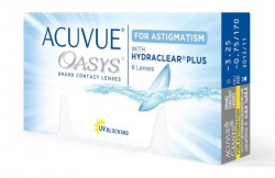 линзы ACUVUE Oasys For Astigmatism with HYDRACLEAR Plus ( 6 шт.)
