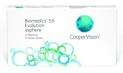 контактные линзы Biomedics 55 Evolution 6шт.